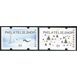 AUSTRIA (2012). PHILATELIE.SHOP (Inv. 5). ATMs nuevos (01)