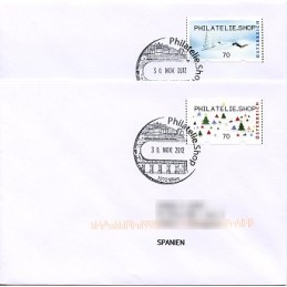 AUSTRIA (2012). PHILATELIE.SHOP (Inv. 5). Sobres P.D. (España)