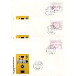 LUXEMBURGO (1983). Frama (1) - P 2502. Sobres primer día (serie)