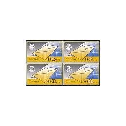 ESPAÑA. 9.1. Carta. PTS-4 CB. Serie 4 val. (2)