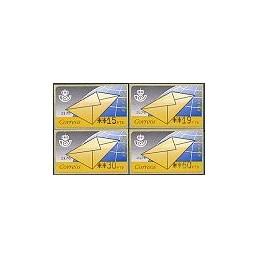 ESPAÑA. 9.1. Carta. PTS-4 Mobba. Serie 4 val. (2)