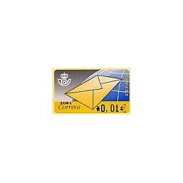 ESPAÑA. 9.2. Carta. EUR-4A. ATM nuevo (0,01)