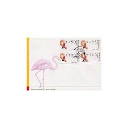PORTUGAL (2000). Flamingo. Sobre primer día (serie)