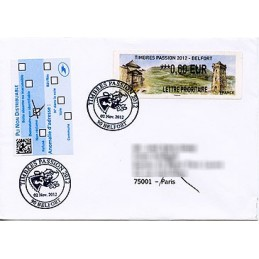 FRANCE (2012). Timbres...