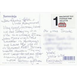 SPAIN (2001). MALTAPOST -...