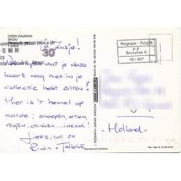 SPAIN. DHL. Postcard (via...
