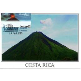 COSTA RICA (2004). Volcán Arenal - Epelsa 1.. Tarjeta máxima (La Fortuna)