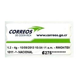 COSTA RICA (2013). Correos...