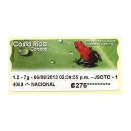 COSTA RICA (2013). Rana...