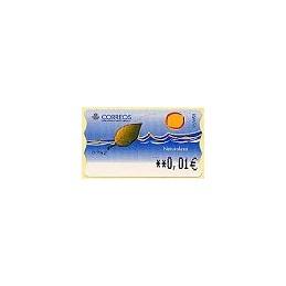 ESPAÑA. 17.2.2. Naturaleza - Tipo 2. EUR-5E. ATM nuevo (0,01)