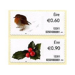 IRLANDA (2013). Navidad 2013 -  02501. Sellos nuevos
