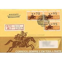 PORTUGAL (1990). Post logo...