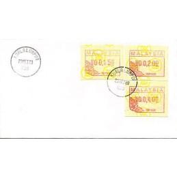 MALAYSIA (1987). Post logo....