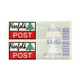 NORFOLK (2001).  Post logo...