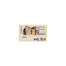 ESPAÑA. 79. Arq. postal - Osorno. 5A. ATM nuevo (0,01)