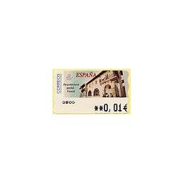 ESPAÑA. 80. Arq. postal - Ferrol. 5A. ATM nuevo (0,01)