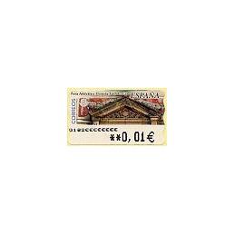 ESPAÑA. 81. Arq. postal - Donostia. 5A. ATM nuevo (0,01)