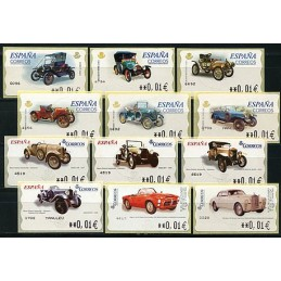 SPAIN. Collection CARS -...