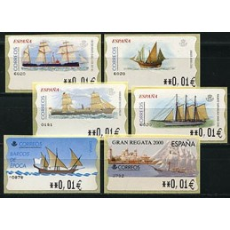 SPAIN. Collection SHIPS. 6...