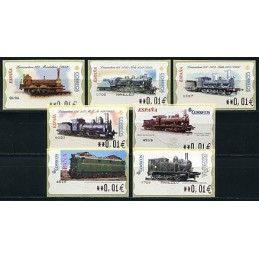 SPAIN. Collection TRAINS -...
