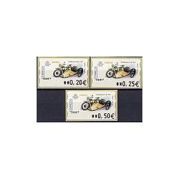 ESPAÑA. 68. Motobecane B-44. 5A. Serie 3 val.