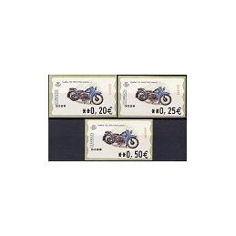 ESPAÑA. 69. Nimbus 750. 5A. Serie 3 val.