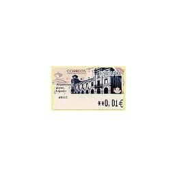 ESPAÑA. 77. Arq. postal - Logroño. 5E. ATM nuevo (0,01)