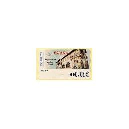 ESPAÑA. 80. Arq. postal - Ferrol. 5E. ATM nuevo (0,01)