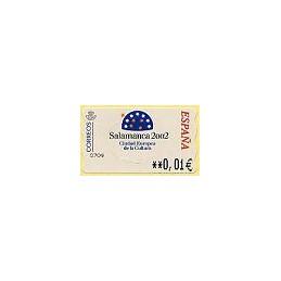 ESPAÑA. 83. Salamanca 2002. 5E. ATM nuevo (0,01)
