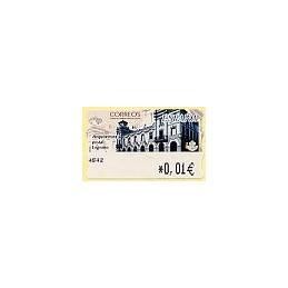 ESPAÑA. 77. Arq. postal - Logroño. 4E. ATM nuevo (0,01)