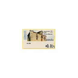ESPAÑA. 79. Arq. postal - Osorno. 4E. ATM nuevo (0,01)