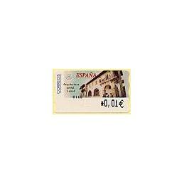ESPAÑA. 80. Arq. postal - Ferrol. 4E. ATM nuevo (0,01)