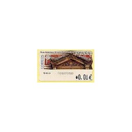 ESPAÑA. 81. Arq. postal - Donostia. 4E. ATM nuevo (0,01)