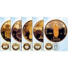 VATICAN CITY (2001). Golden...