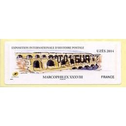 FRANCIA (2014). MARCOPHILEX...