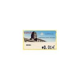 ESPAÑA. 78. Arq. postal - A Coruña. 4A. ATM nuevo (0,01)