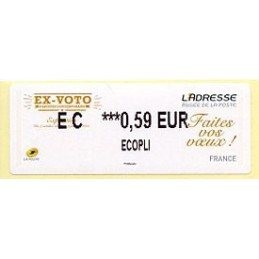 FRANCE (2014). Ex-Voto -...
