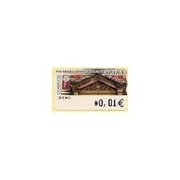 ESPAÑA. 81. Arq. postal - Donostia. 4A. ATM nuevo (0,01)