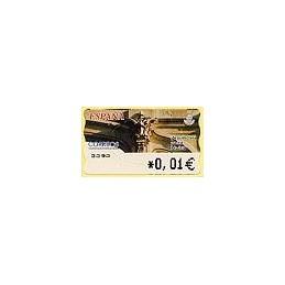 ESPAÑA. 82. Arq. postal - Madrid. 4A. ATM nuevo (0,01)
