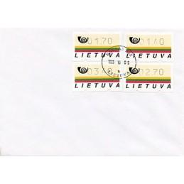 LITUANIA (1995). Emblema...
