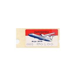 INDONESIA (1996). Avión N 250 - 003. ATM nuevo