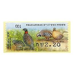 ISRAEL (2015). Phasianidae...