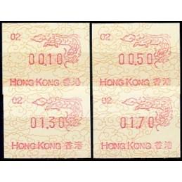 HONG KONG (1988). Año del...