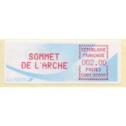 FRANCE (1989). SOMMET DE...