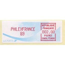 FRANCE (1989). PHILEXFRANCE...