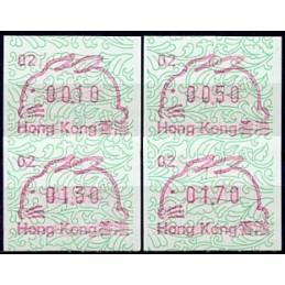 HONG KONG (1987). Year of...