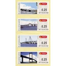 DINAMARCA (2008). Puentes Dinamarca (2.2). ATMs nuevos