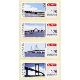 DINAMARCA (2008). Puentes Dinamarca (2.3). ATMs nuevos