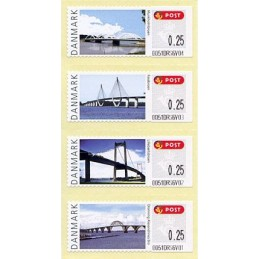 DINAMARCA (2008). Puentes Dinamarca (2.1). ATMs nuevos