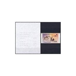 40.1. FINLANDIA (2003). Ciervo. ATM nuevo + rec.